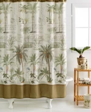 Avanti Colony Palm Shower Curtain Bedding