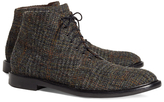 Brooks Brothers Tweed Boots
