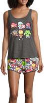 Asstd National Brand Shorts Pajama Set