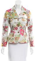 Miu Miu Floral Jacquard Jacket