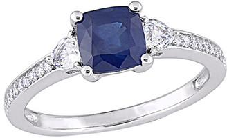 Rina Limor Fine Jewelry 14K 1.68 Ct. Tw. Diamond & Sapphire Ring