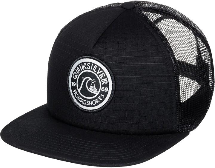 Quiksilver Zip Trippy Trucker Hat