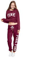 PINK Lace-Up Classic Pant