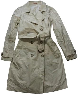 Prada Ecru Cotton Trench Coat for Women