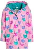 Hatley SILLY KITTIES Waterproof jacket rose