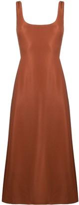 Gabriela Hearst square-neck A-line dress