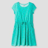 Cat & Jack Girls' Bug Print Dress Cat & Jack - Green