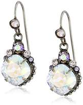 "Sorrelli Running Water"" Crystallized Drop Earrings"