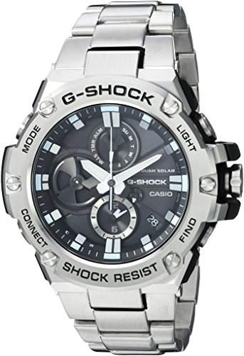 Casio Men's 'G-Shock' Quartz Resin and Stainless Steel Dress Watch