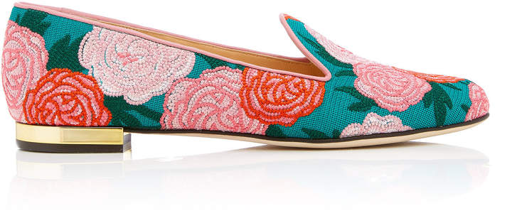 Charlotte Olympia M'O Exclusive: Peony Loafer