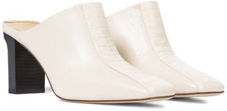 AEYDĒ Jude leather mules