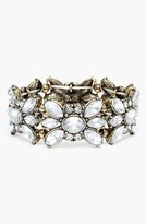 BaubleBar Crystal Stretch Bracelet