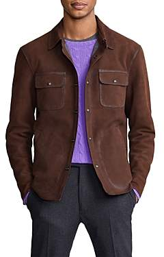Polo Ralph Lauren Nubuck Leather Shirt Jacket