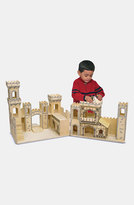 Melissa & Doug Toddler Wood Play Castle (Online Only)
