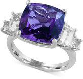 Effy Viola by Amethyst (5-1/4 ct. t.w.) and White Topaz (3-1/2 ct. t.w.) Ring in 14k White Gold