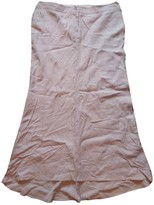 Armani Jeans Pink Linen Skirt for Women