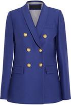 J.Crew Irene Wool And Silk-blend Faille Blazer - Royal blue