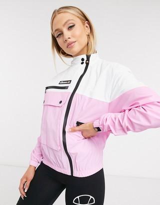 Ellesse Utility Track Jacket In Pink