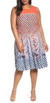 Nic+Zoe Plus Size Women's Fiore Twirl Dress