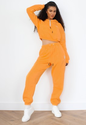 Missguided Playboy X Orange Oversized Joggers