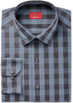 Alfani Slim Fit + Stretch Men's Night Sky Gingham Dress Shirt, Only at Macy's