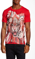 Just Cavalli Crew Neck Graphic Tee