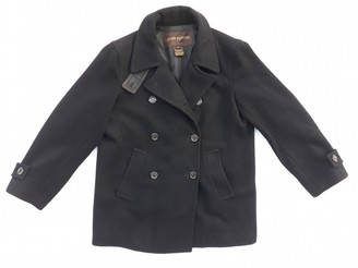 Louis Vuitton Black Wool Coat for Women