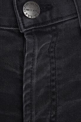 Current/Elliott The Original Straight Cropped High-rise Straight-leg Jeans