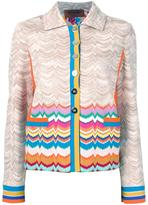 Missoni buttoned jacket - women - Viscose/Wool - 42
