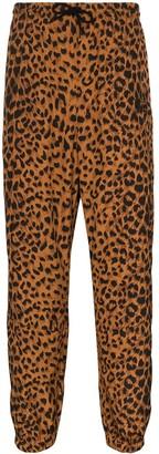 Wacko Maria Leopard-Print Track Pants