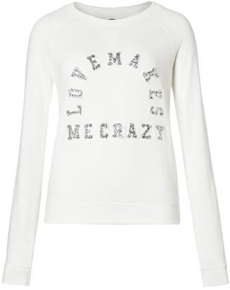 United Colors of Benetton (Z6ERJ) Women's Maglia M/L 106TD1O22 Sweater
