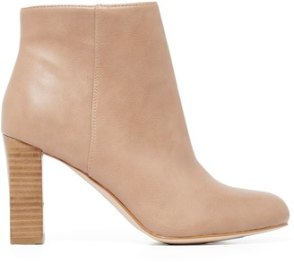 Forever New Hannah Slim Heel Boots - Nude - 36