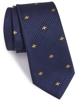 Gucci Men's Vichee Embroidered Silk Blend Tie