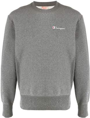 Champion small script crewneck sweatshirt