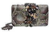 Sondra Roberts Jewel Satin Clutch