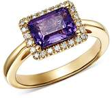 Bloomingdale's Amethyst & Diamond Ring in 14K Yellow Gold - 100% Exclusive