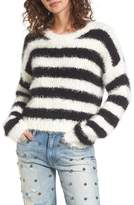 Juicy Couture Women's Stripe Slouchy Pullover