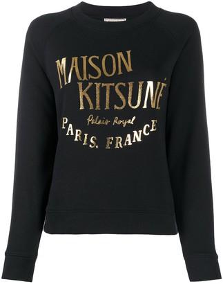 MAISON KITSUNÉ Logo Print Sweatshirt