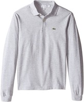 Lacoste Kids - Long Sleeve Classic Pique Polo Shirt Boy's Long Sleeve Pullover