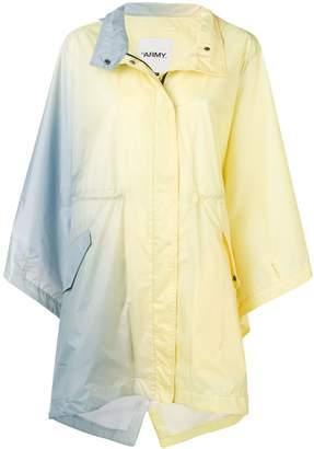 Yves Salomon gradient parka raincoat
