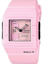 Casio Women's Baby-G BGA200-4E2 Resin Quartz Watch with Dial