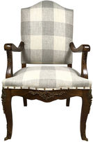 One Kings Lane Vintage 19th-C. French Walnut Armchair