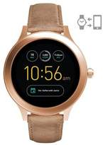 Fossil Q Venture Leather Strap Touchscreen Smartwatch