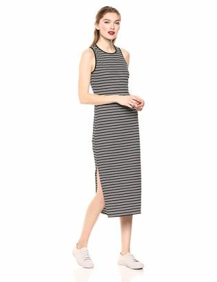 BCBGeneration Women's Striped Tank Midi Dress