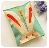 Creative Cloth tissue box living room Family expenses Car Pumping paper sets lovely bathroom Napkin box Bunny
