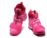 ZLST Men's Women's Air Zoom Basketball Shoe Soldier 10 Basketball Trainers Sneaker US8