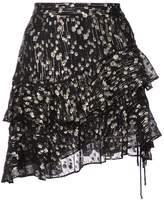 Derek Lam 10 Crosby Tiered Ruffle Skirt