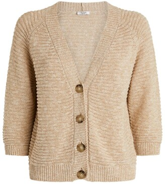 Peserico Ribbed Cardigan