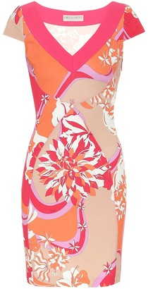 Emilio Pucci Printed stretch-crApe dress