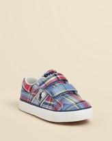 Ralph Lauren Unisex Bollingbrook Low EZ Velcro® Sneaker - Walker, Toddler